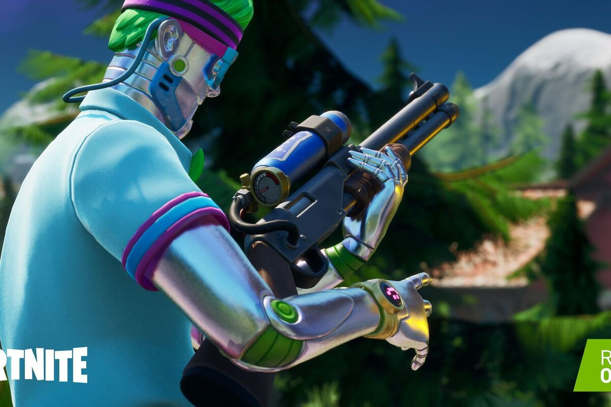 Fortnite flips RTX on September 17: Ray tracing, DLSS, and Nvidia Reflex thumbnail