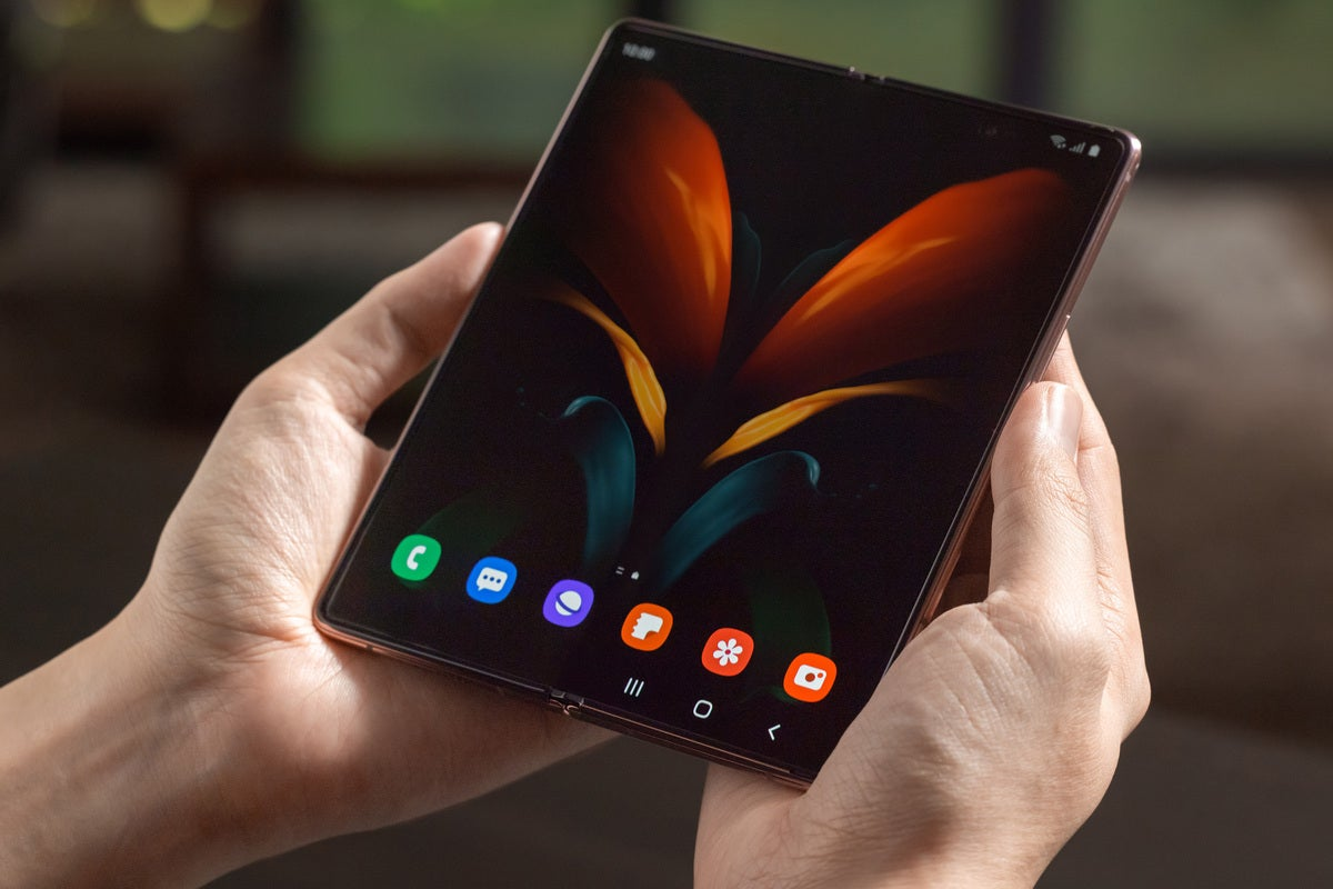 Samsung Galaxy Z Fold 2 foldable smartphone 2020 tech