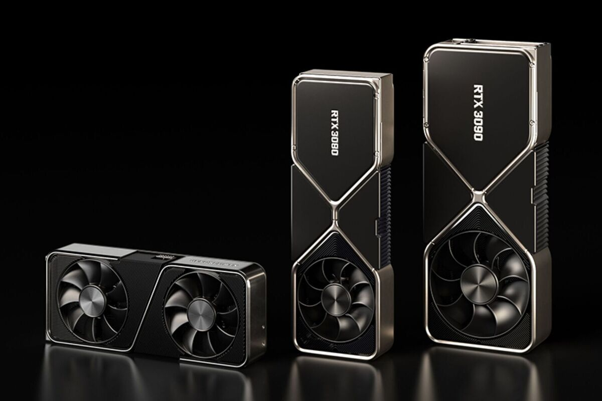 The GeForce RTX 3080 and RTX 3090 are Nvidia's 'greatest generational leap ever' thumbnail