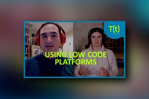 Using low code platforms to learn development skills