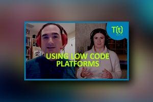 Using low code platforms to learn development skills