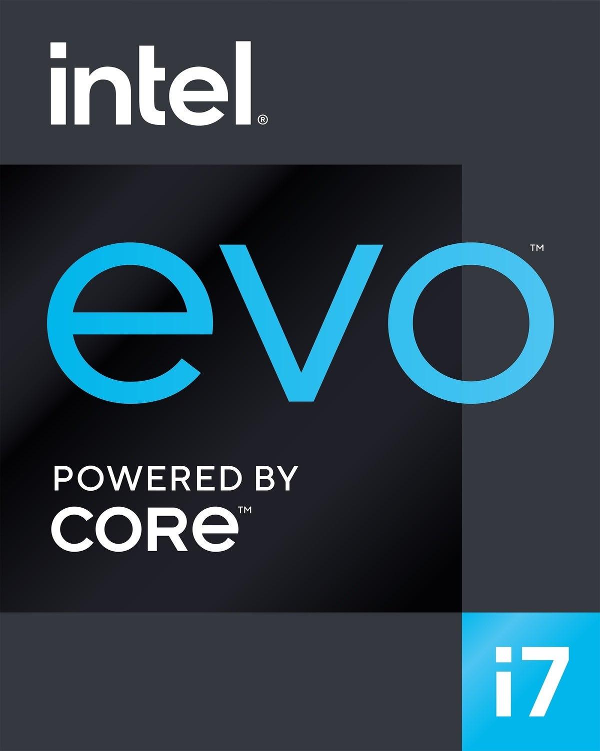 نشان در پلت فرم Intel evo i7