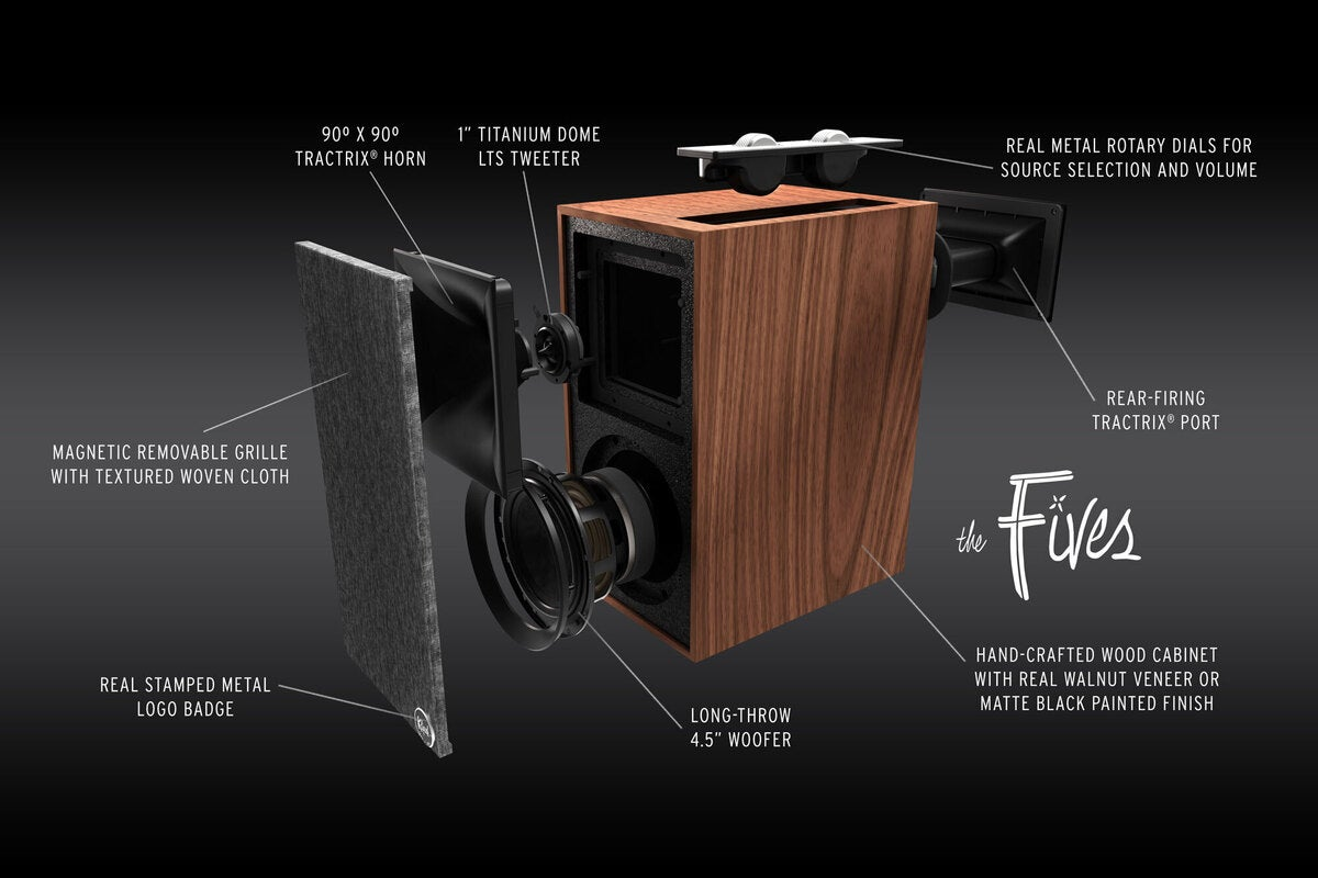 klipsch the fives exploded