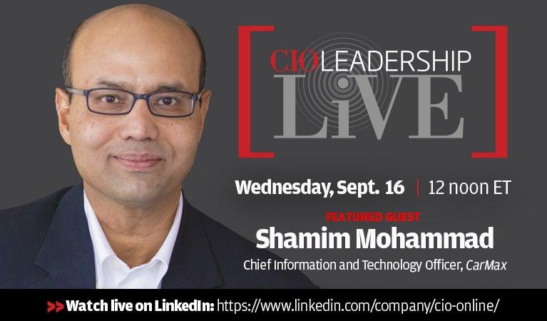 CIO Leadership Live, August 17