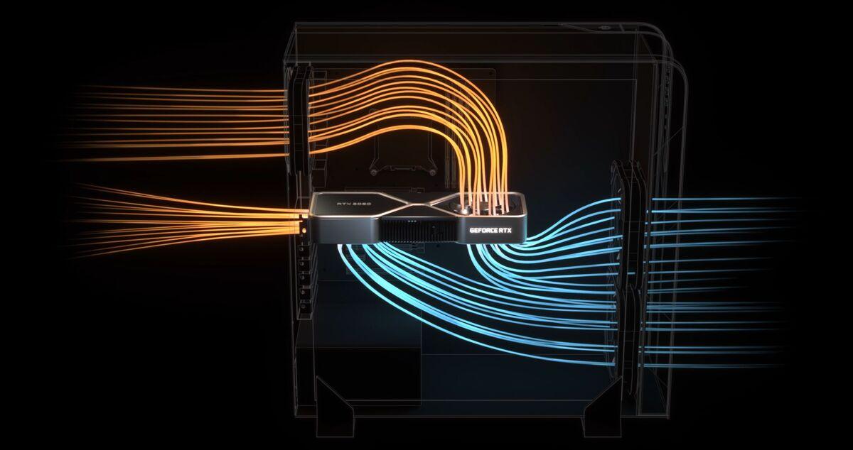 nvidia geforce rtx 30 series cooler flow