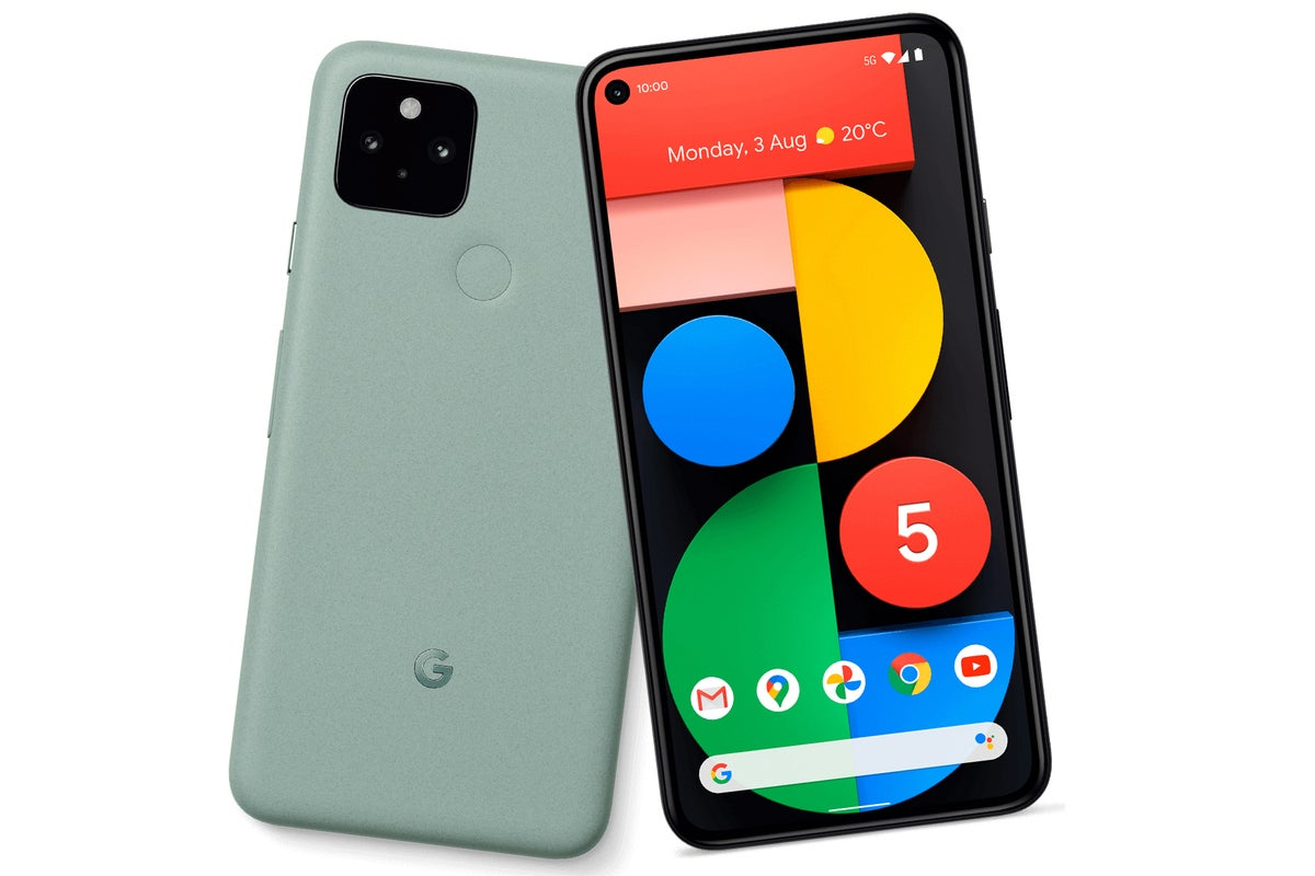 pixel 5 green leak 100859995 large - Google Pixel 5 preview: Lower price, mid-range parts, and 5G