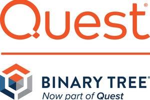 quest binarytree logo lockup stacked
