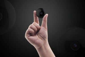 This cam records in HD, has night vision - and is 1.5 inches
