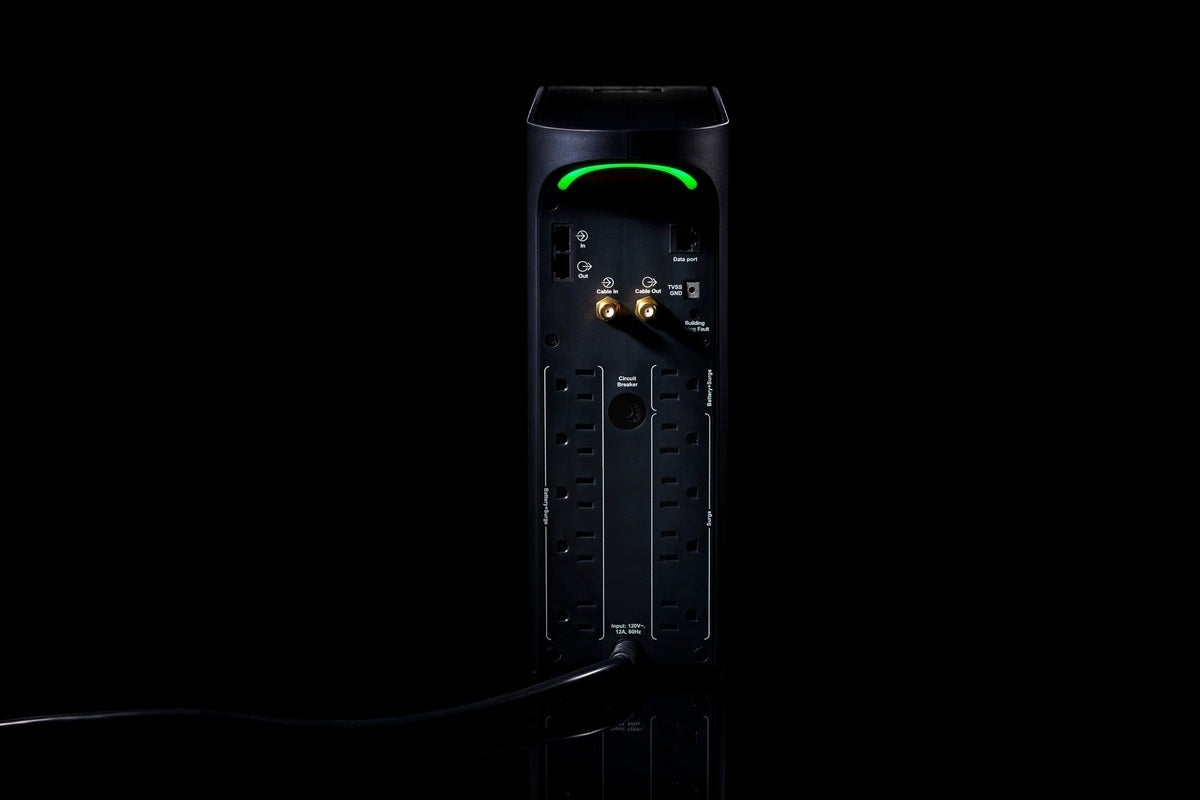 The Apc Back-Ups Pro Gaming Ups Offers Uninterruptible Power And Surge Protection.