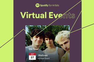 spotify virtual events splash