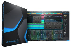 studio one pro box and screenshot