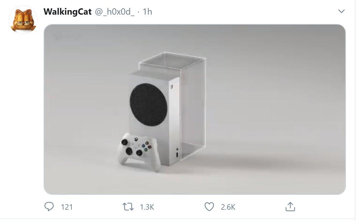 xbox series s walkingcat Microsoft twitter