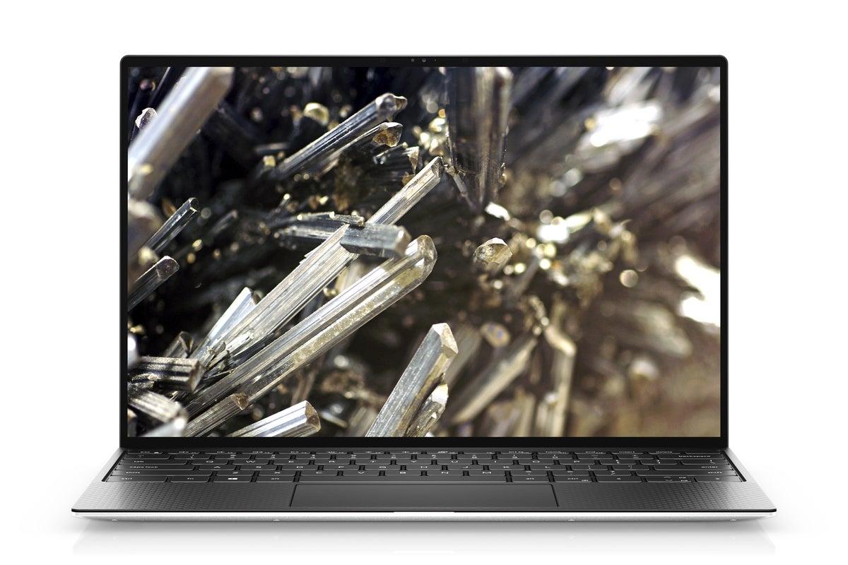 xps 13 black display view