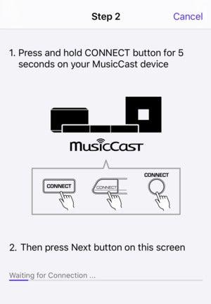 yamaha bar 400 musiccast app wi fi