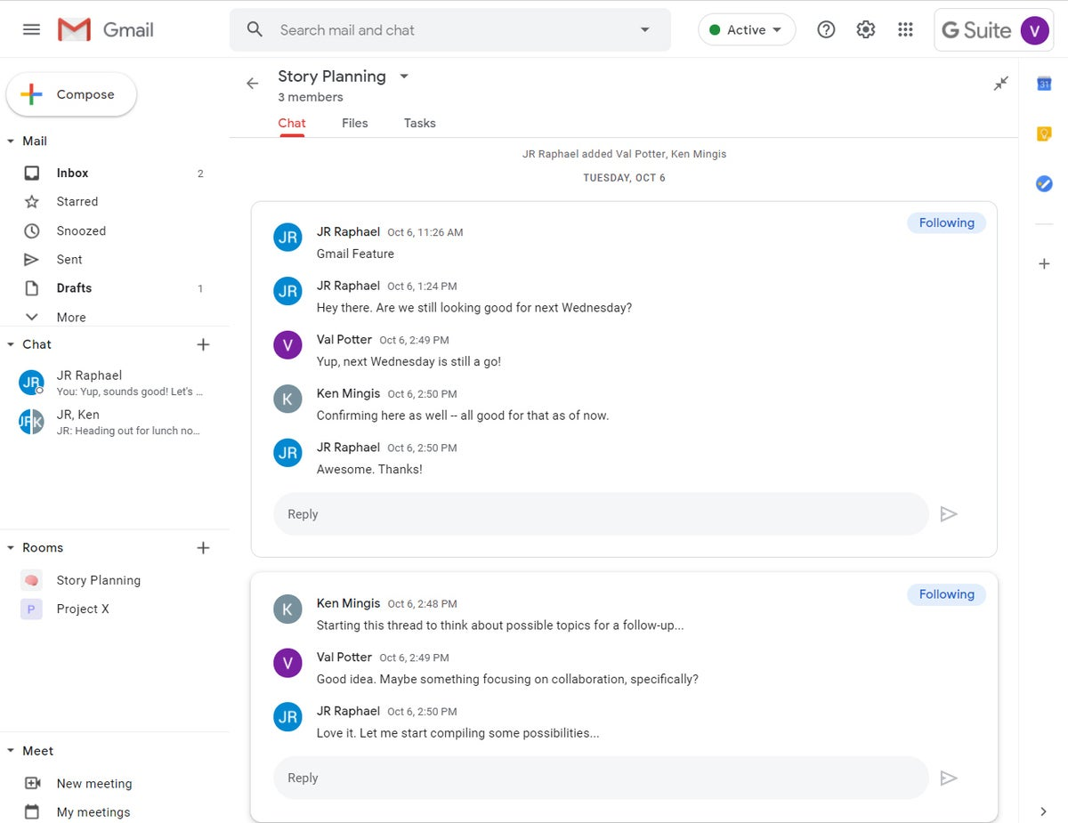 00 interfaz de colaboración de gmail