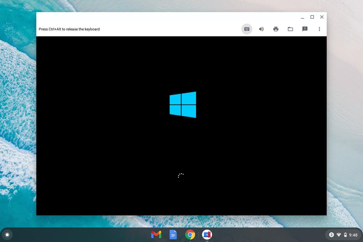Chrome OS - Windows boot