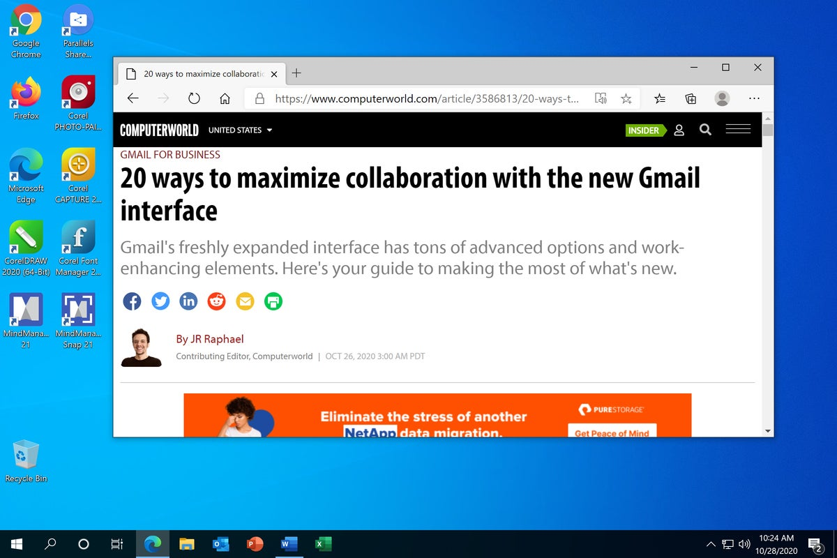 Chrome OS - Windows full screen
