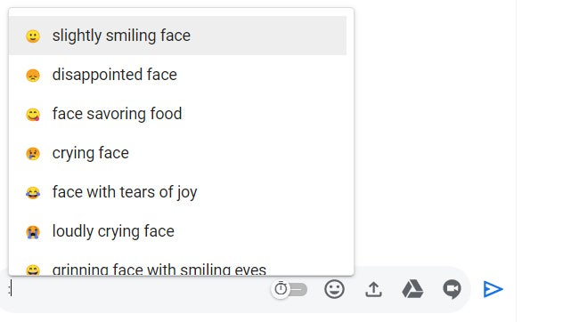 09 emojis de colaboración de gmail