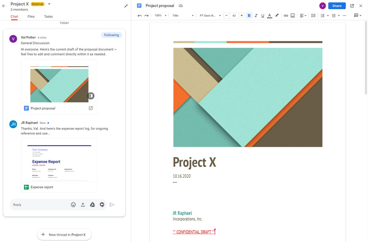 13c edición de documentos de la sala de colaboración de gmail