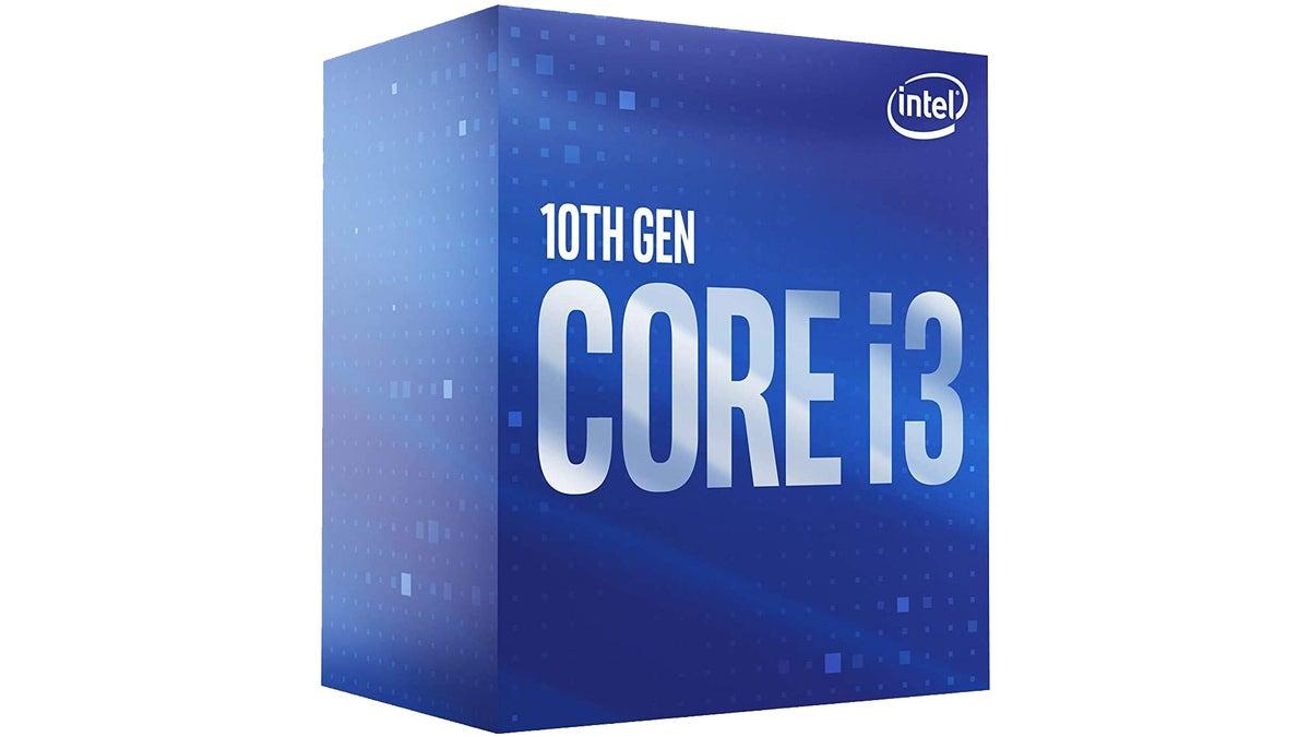 Intel Core i3 retail box