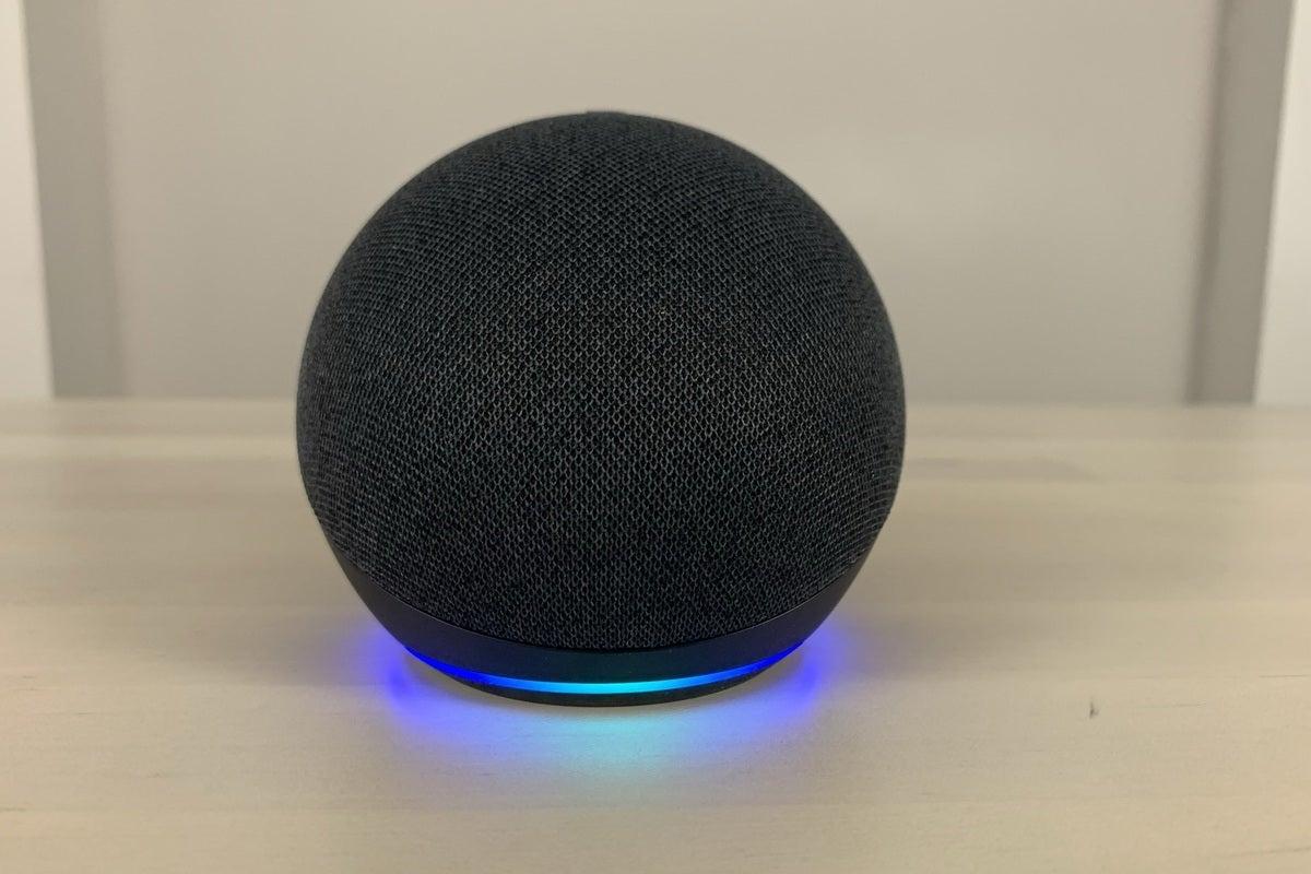 آمازون echo dot نسل چهارم پایه