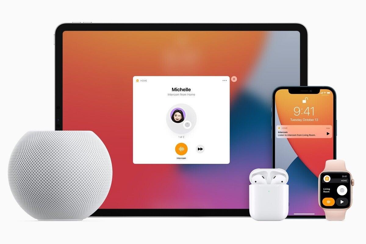 apple homepod mini intercom