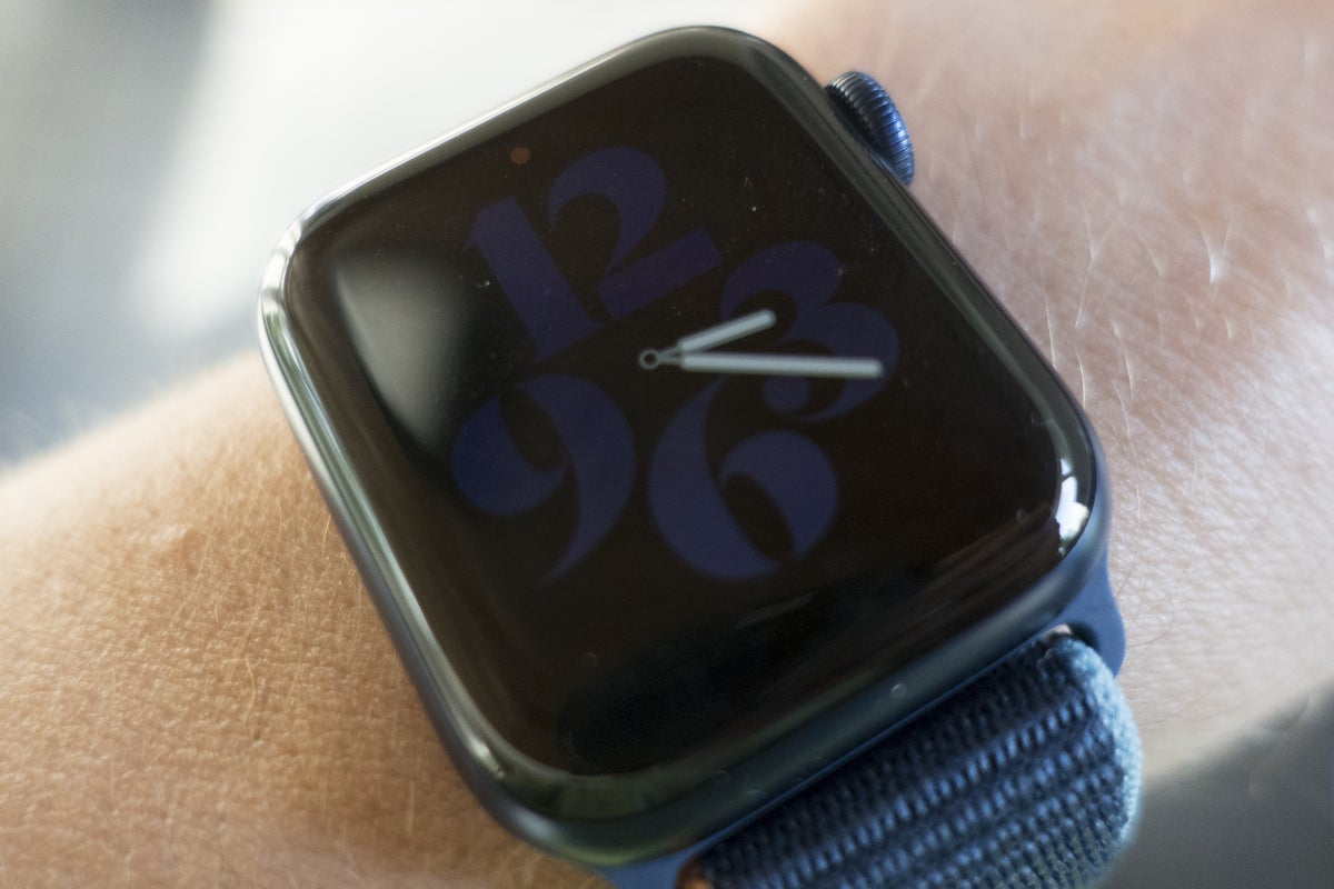 apple watch series 6 always on