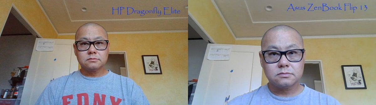 asus zenbook flip 13 vs hp dragonfly elite