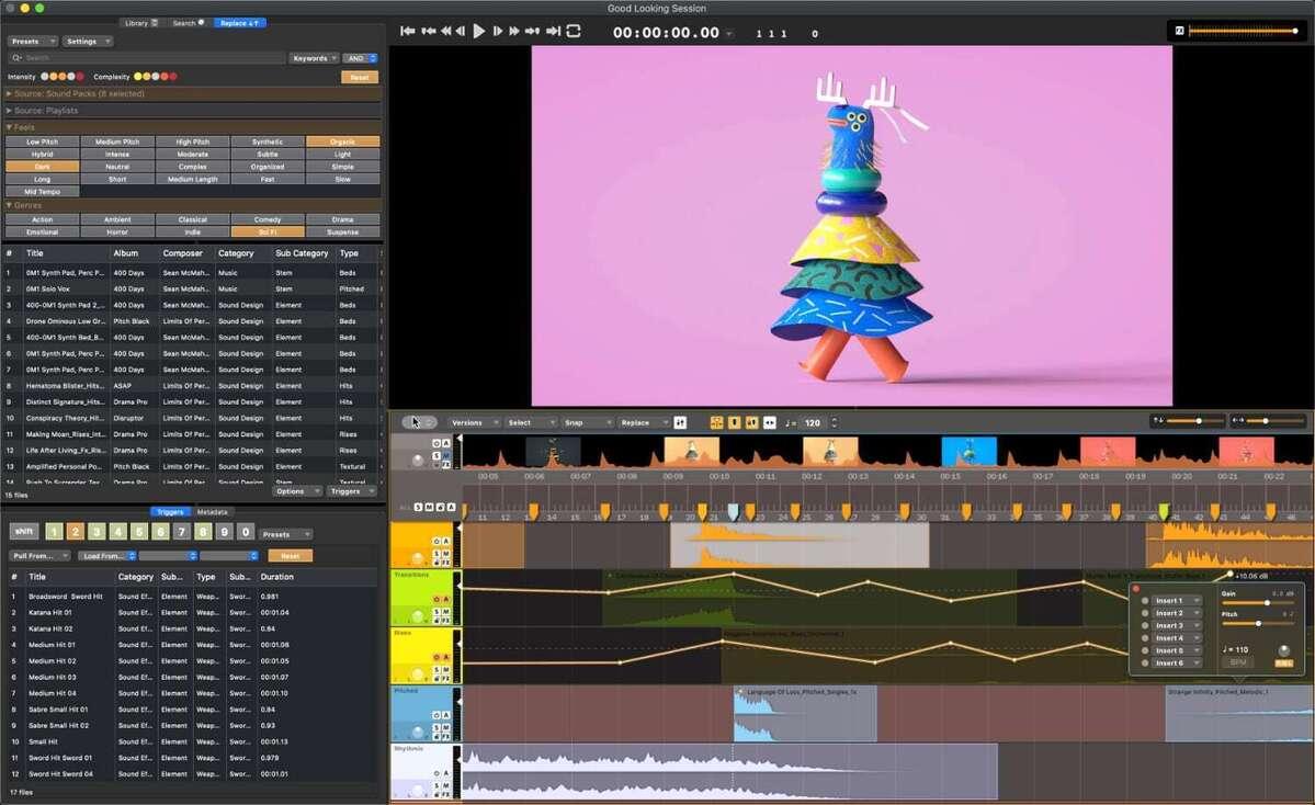 audio design desk effects search