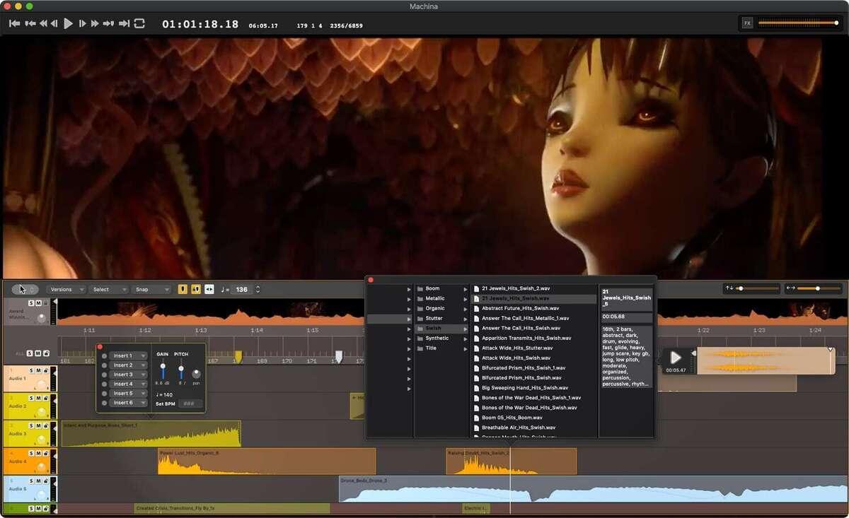 audio design desk swap effects