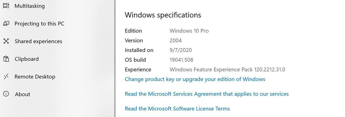 block win10 20h2 01 settings system about