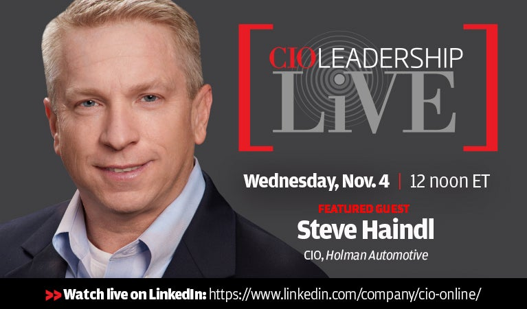 CIO Leadership Live, Nov 4