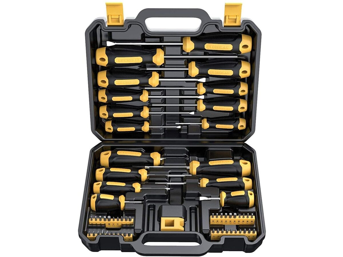 This 57-piece screwdriver set is deeply discounted at