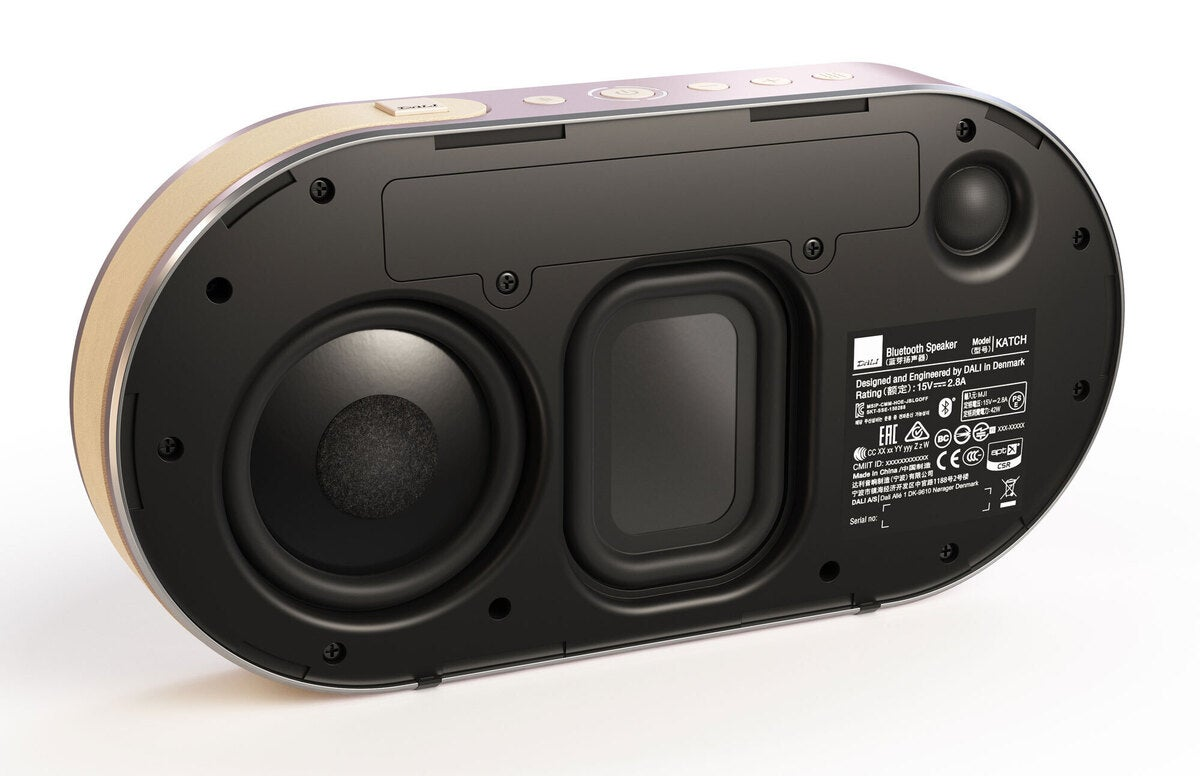 dali katch drivers 100863305 large - DALI Katch Bluetooth speaker review: Small sound from a small package