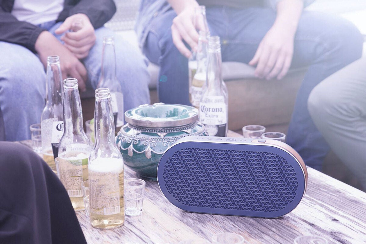 dali katch lifestyle2 100863311 large - DALI Katch Bluetooth speaker review: Small sound from a small package