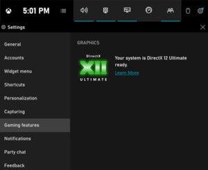 gamebar directX 12