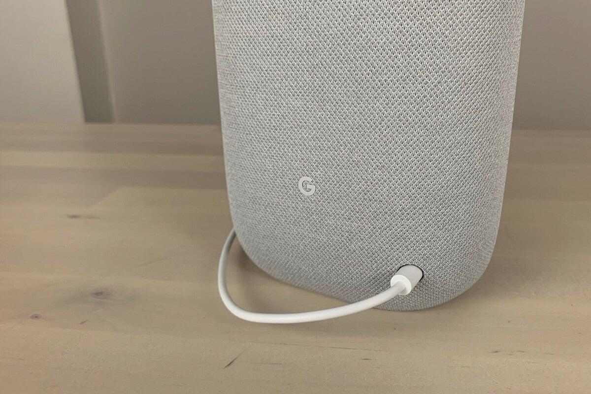 google nest audio power port