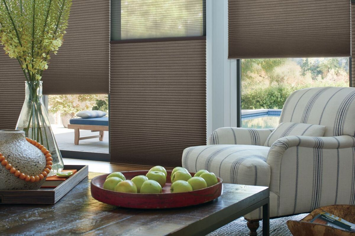 hunter douglas duette shades with powerview