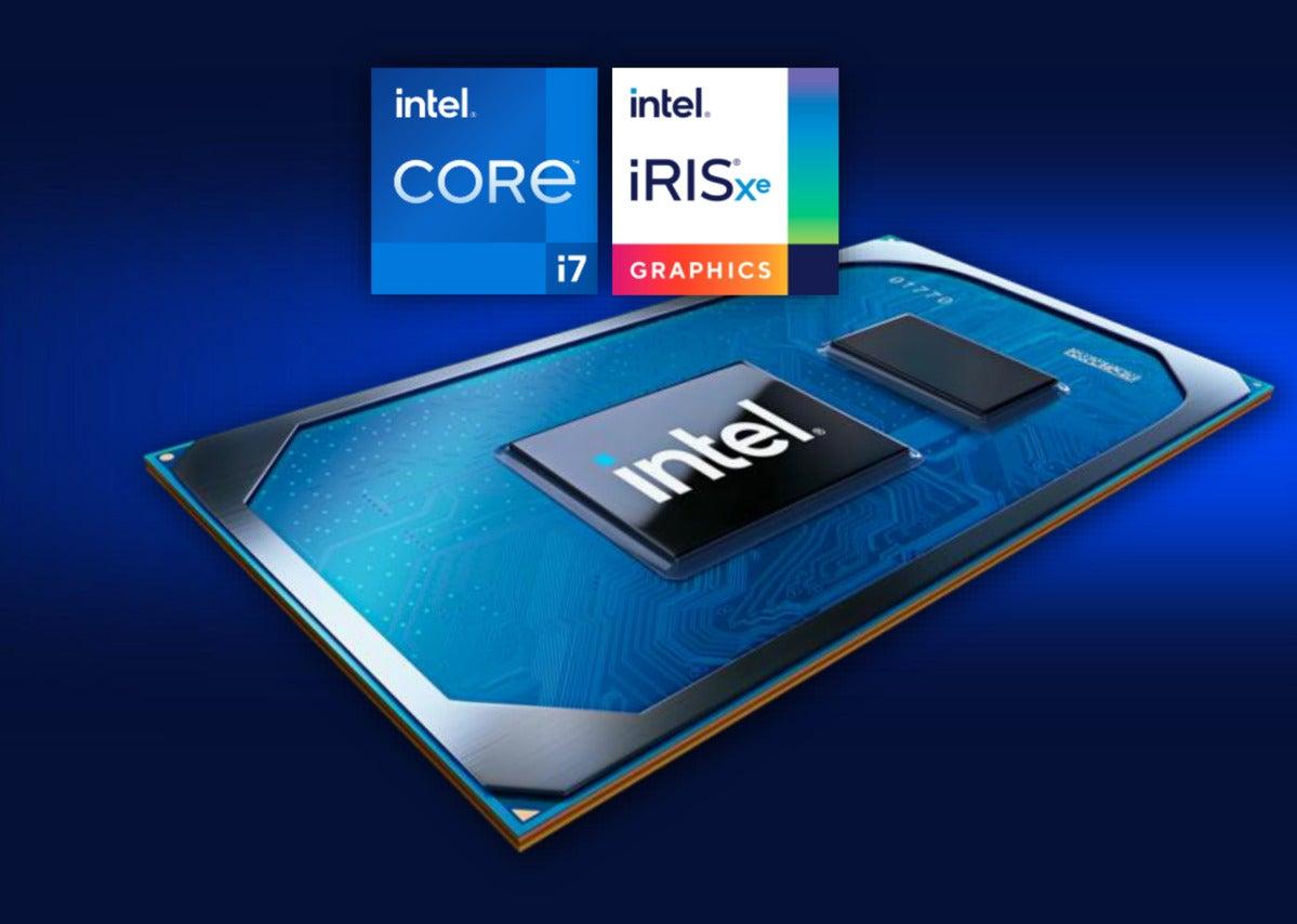 آرم Intel Tiger Lake Core Iris Xe Max