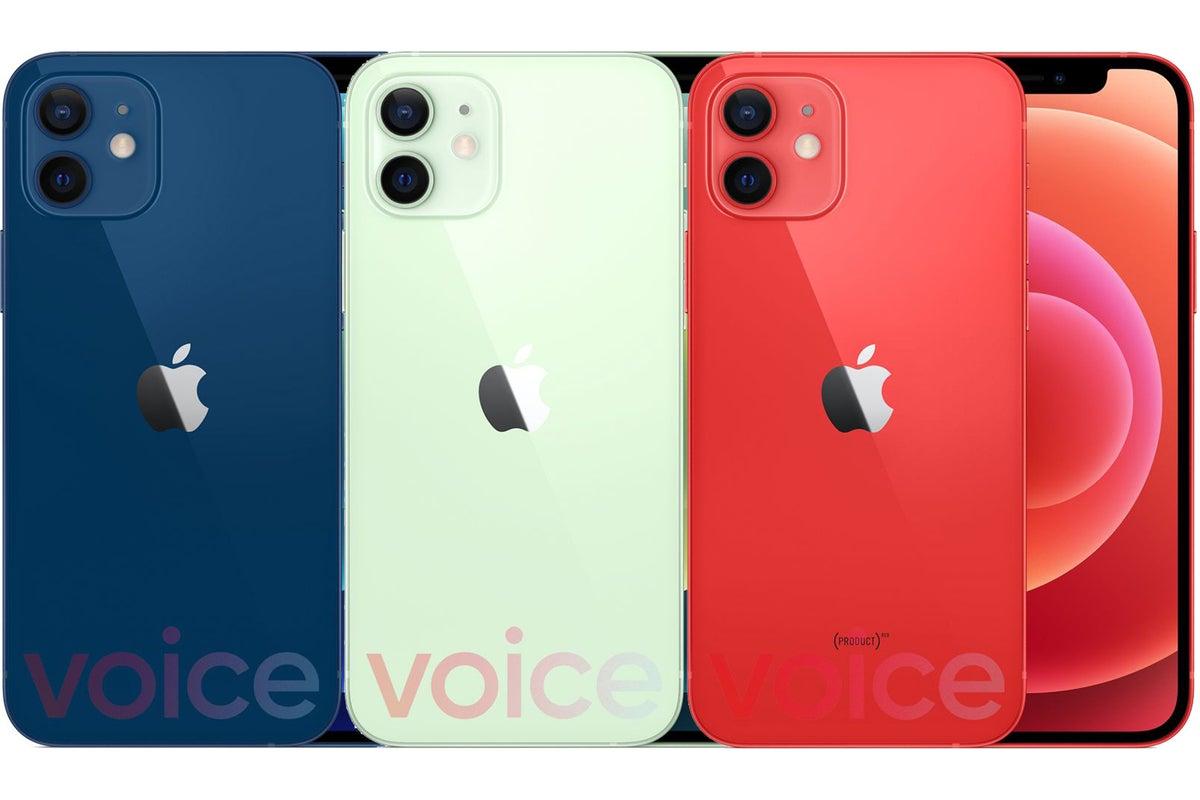 iphone 12 colors leak2
