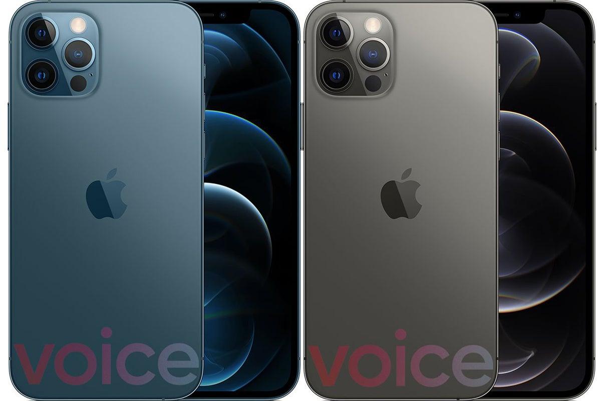 iphone 12 pro colors leak