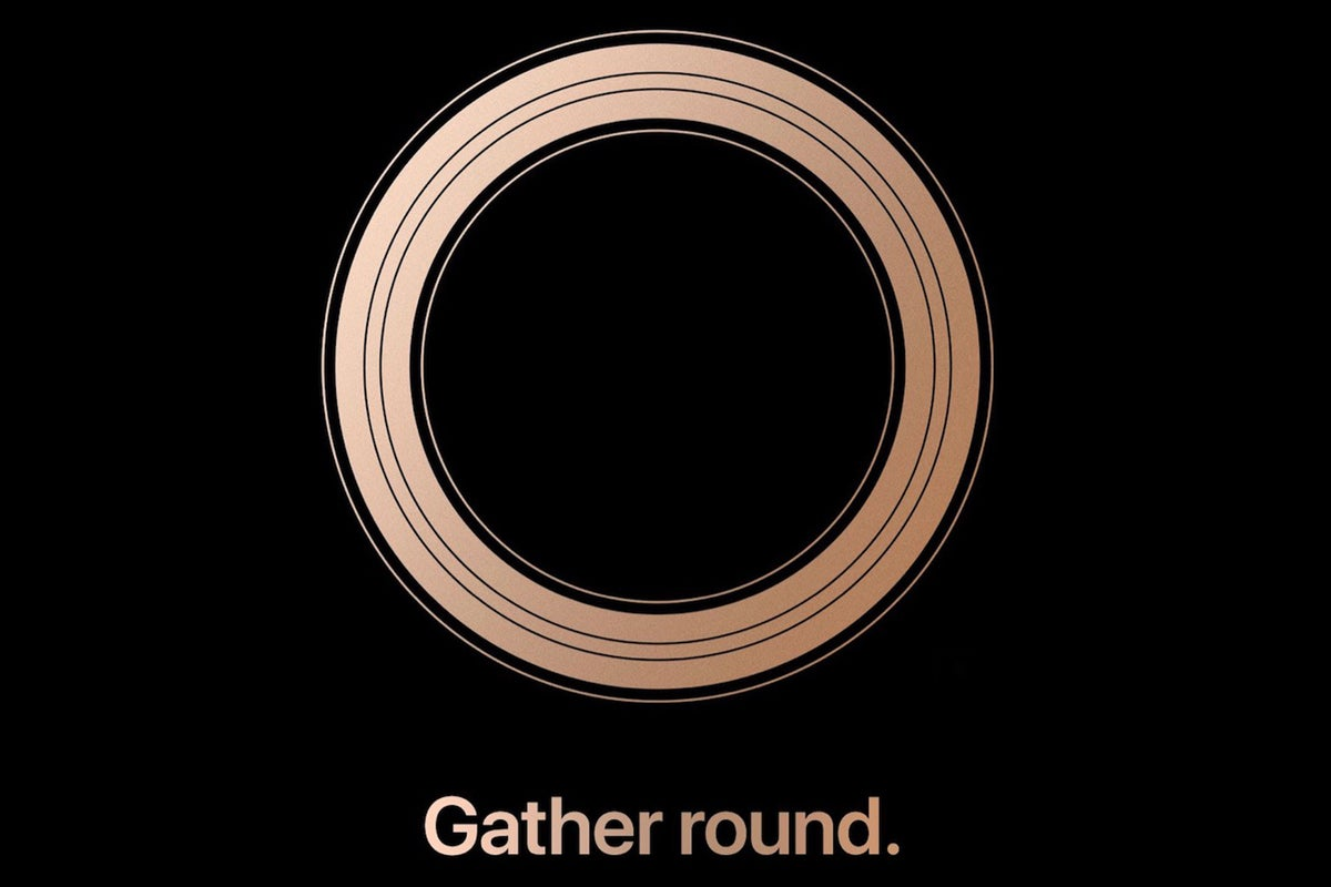 iphone event gather round