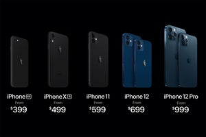 iphone lineup 2020