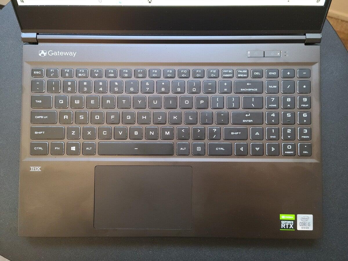 Gateway GWTN156-3BK keyboard