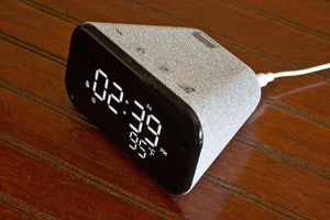 lenovo smart clock essential top angle