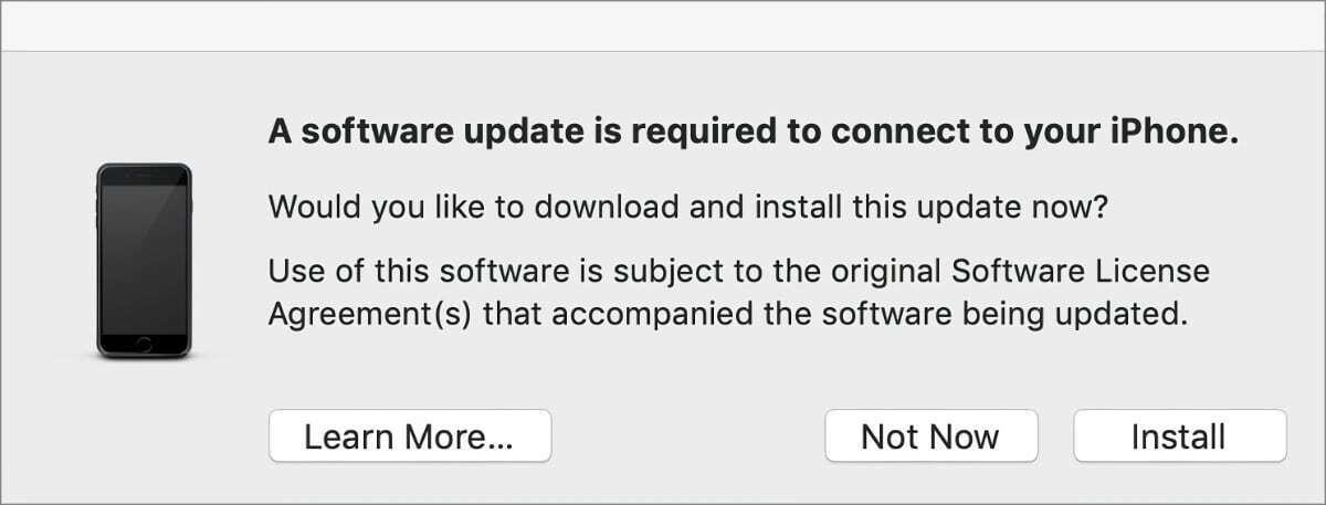 mac911 itunes software iphone update installer