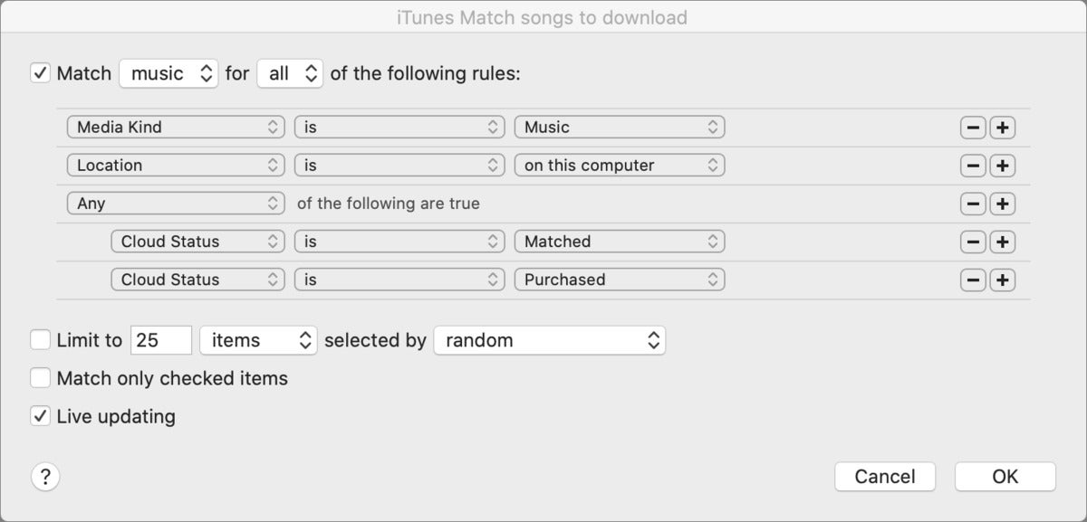 mac911 music download icloud match