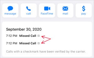 mac911 verified call contacts