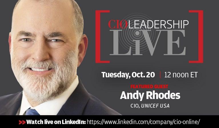 CIO Leadership Live, Oct 20