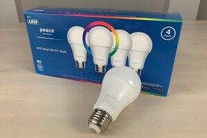 peace by hampton a19 wi fi smart bulb